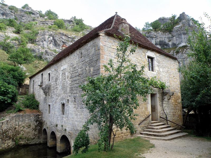Visitez la région - Moulin à eau de Cougnaguet
